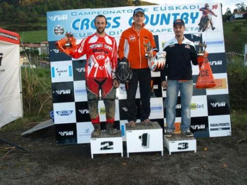 Jordi Viladoms al 3er lloc del Cross Country de Euskadi