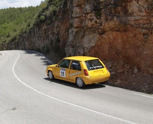 L'experimentat Jaume Guixà a bord del seu R5 GTT