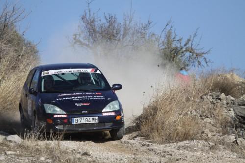 Nafría-Montaner amb el Ford Focus