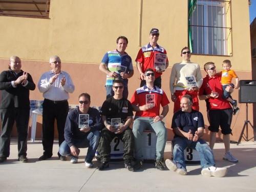Fotografia del Podi del Grup FX al complert