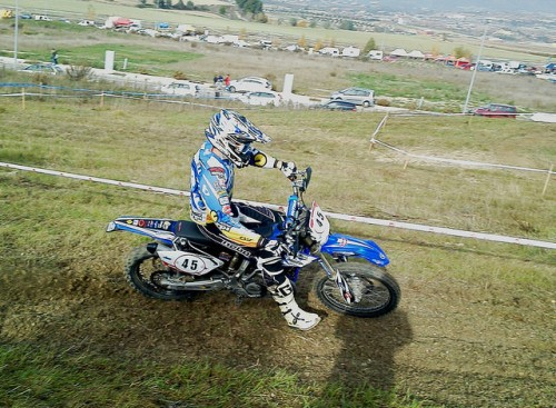 Eduard Vendrell a l'especial Cross Test.