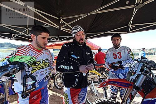 D'esquerra a dreta Oriol Balcells, Marc Vives i Jordi Balcells.