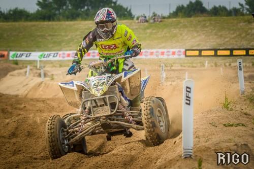 Dani Vilà a l'European ITP Quadcross Championship a Italia.
