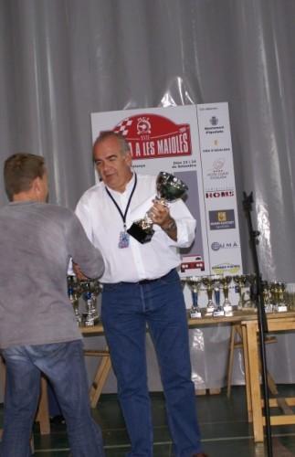 Lluis Costa a l'entrega de Premis de la 17ªPujada a les Maioles l'any 2006