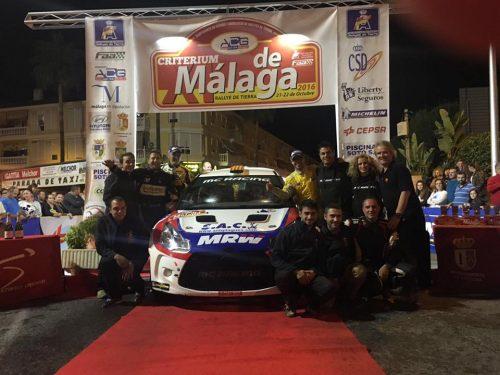 L'Equip Mc Racing al Podi de Màlaga