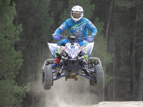 Espectacular Dani Vilà al Circuit Off-Road de Parcmotor